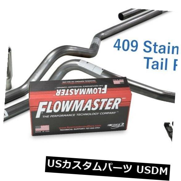 "Chevy GMC 1500 07-14 2.5/"" Dual Truck Exhaust Kits Flowmaster 40 Series Black Tip"