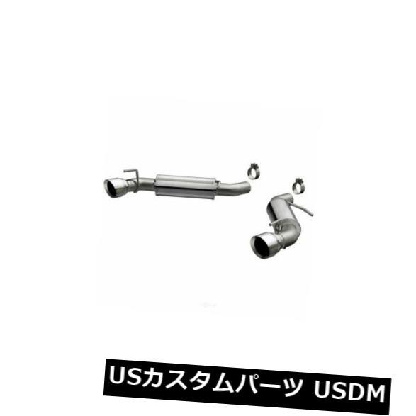 輸入マフラー Exhaust System Kit-Competitio nシリーズステンレスアクスルバックシステムはCamaro V8に適合 Exhaust System Kit-Competition Series Stainless Axle-Back System fits Camaro V8