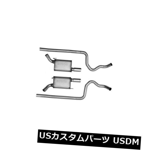 輸入マフラー エキゾーストシステムキット-ウルトラフロー溶接デュアルシステムは05-09フォードマスタング4.6L-V8に適合 Exhaust System Kit-Ultra Flo Welded Dual System fits 05-09 Ford Mustang 4.6L-V8