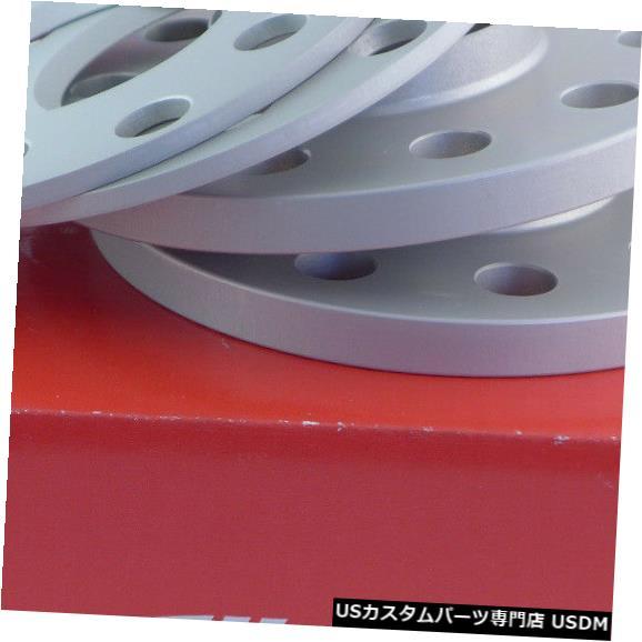 ワイドトレッドスペーサー Eibachホイールスペーサーフロントアクスル+リア10 / 24mm Lk:100/112/5 Mz:57mmシルバー Eibach Wheel Spacer Front Axle + Rear 10/24mm Lk: 100/112/5 Mz : 57mm Silver