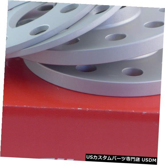 ワイドトレッドスペーサー Eibachホイールスペーサーフロントアクスル+リアアクスルABE 10 / 20mm Lk:100/112/5、Mz:57mm Eibach Wheel Spacer Front Axle + Rear Axle ABE 10/20mm Lk: 100/112/5, Mz : 57mm