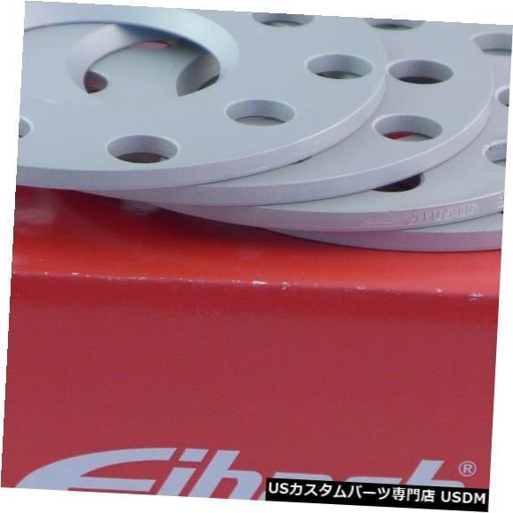 ワイドトレッドスペーサー Eibachホイールスペーサーフロントアクスル+リアアクスル10mm Lk:108/5 Mz65mmシルバー Eibach Wheel Spacer Front Axle + Rear Axle 10mm Lk: 108/5 Mz65mm Silver