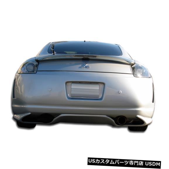 Rear Body Kit Bumper 06-12三菱エクリプススピリットデュラフレックスリアボディキットバンパー!!! 103920 06-12 Mitsubishi Eclipse Spirit Duraflex Rear Body Kit Bumper!!! 103920