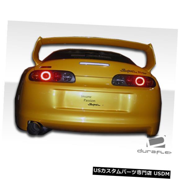 Rear Body Kit Bumper 93-98トヨタスープラTD3000デュラフレックスリアワイドボディキットバンパー!!! 102529 93-98 Toyota Supra TD3000 Duraflex Rear Wide Body Kit Bumper!!! 102529