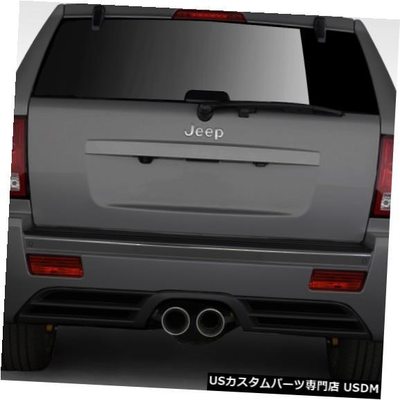 Rear Body Kit Bumper 05-10ジープグランドチェロキーSRTルックデュラフレックスリアボディキットバンパー!!! 109328 05-10 Jeep Grand Cherokee SRT Look Duraflex Rear Body Kit Bumper!!! 109328