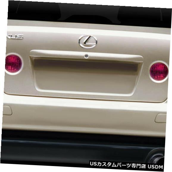 Rear Body Kit Bumper 00-05レクサスIS Hスペックデュラフレックスリアボディキットバンパー!!! 114790 00-05 Lexus IS H Spec Duraflex Rear Body Kit Bumper!!! 114790