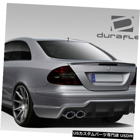 Rear Body Kit Bumper 03-09メルセデスCLK SL65外観Duraflexリアボディキットバンパー!!! 108826 03-09 Mercedes CLK SL65 Look Duraflex Rear Body Kit Bumper!!! 108826