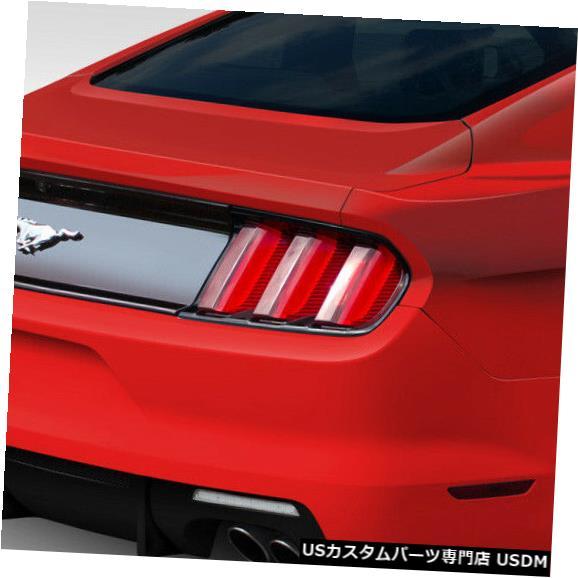 Rear Body Kit Bumper 15-18フォードマスタンググリッドDuraflexリアボディキットバンパー!!! 112564 15-18 Ford Mustang Grid Duraflex Rear Body Kit Bumper!!! 112564