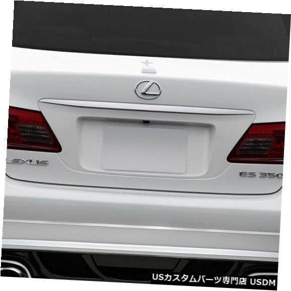 Rear Body Kit Bumper 07-12レクサスES AM-Sデュラフレックスリアボディキットバンパー!!! 108954 07-12 Lexus ES AM-S Duraflex Rear Body Kit Bumper!!! 108954