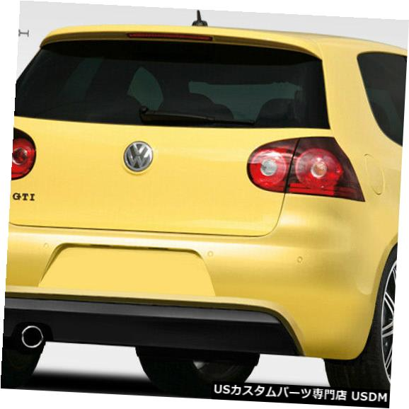 Rear Body Kit Bumper 06-09フォルクスワーゲンGTI RルックDuraflexリアボディキットバンパー!!! 108160 06-09 Volkswagen GTI R Look Duraflex Rear Body Kit Bumper!!! 108160
