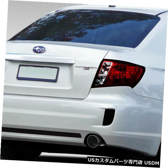 Rear Body Kit Bumper 08-11スバルインプレッサSTIルックDuraflexリアボディキットバンパー!!! 108759 08-11 Subaru Impreza STI Look Duraflex Rear Body Kit Bumper!!! 108759