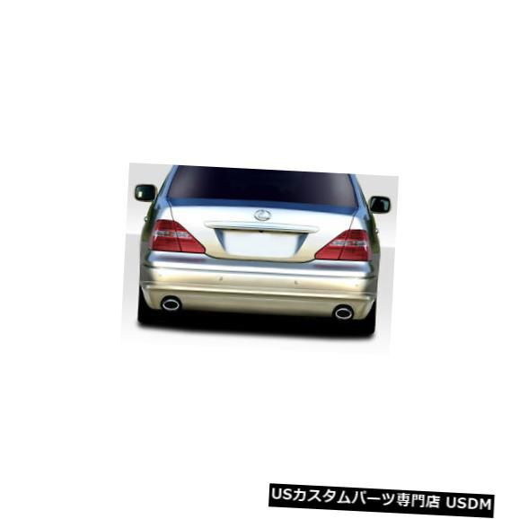 Rear Body Kit Bumper 01-03レクサスLS W1デュラフレックスリアバンパーリップボディキット!!! 114935 01-03 Lexus LS W1 Duraflex Rear Bumper Lip Body Kit!!! 114935