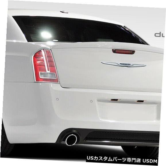 Rear Body Kit Bumper 11-14クライスラー300 SRTルックDuraflexリアボディキットバンパー!!! 108033 11-14 Chrysler 300 SRT Look Duraflex Rear Body Kit Bumper!!! 108033