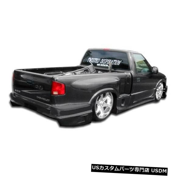 Rear Body Kit Bumper 94-04シボレーS-10ステップサイドドリフターデュラフレックスリアボディキットバンパー!!! 101420 94-04 Chevrolet S-10 Stepside Drifter Duraflex Rear Body Kit Bumper!!! 101420