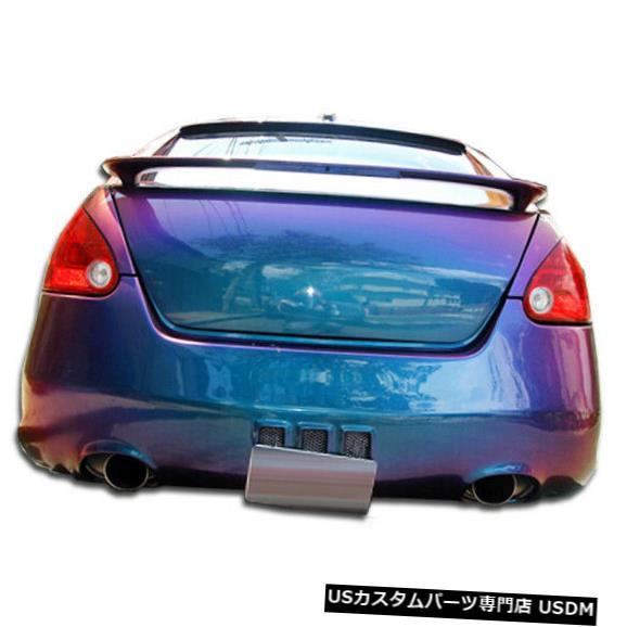 Rear Body Kit Bumper 04-08日産マキシマVIP Duraflexリアボディキットバンパーに適合!!! 100593 04-08 Fits Nissan Maxima VIP Duraflex Rear Body Kit Bumper!!! 100593