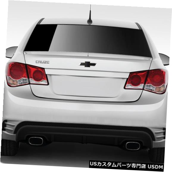 Rear Body Kit Bumper 11-15シボレークルーズコンセプトXデュラフレックスリアボディキットバンパー!!! 109722 11-15 Chevrolet Cruze Concept X Duraflex Rear Body Kit Bumper!!! 109722