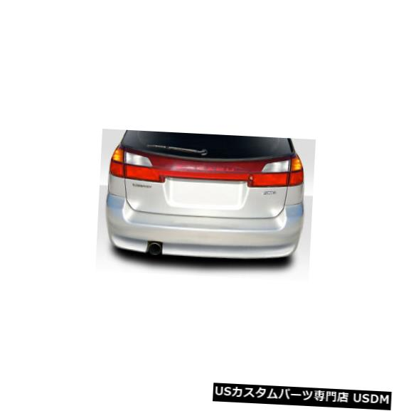 Rear Body Kit Bumper 00-04スバルレガシィワゴンエレクトリックデュラフレックスリアボディキットバンパーに適合!!! 114777 00-04 Fits Subaru Legacy Wagon Electric Duraflex Rear Body Kit Bumper!!! 114777