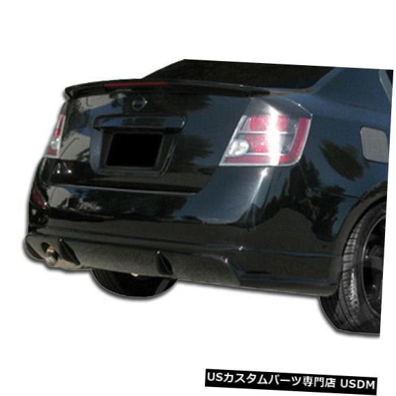 Rear Body Kit Bumper 07-12日産セントラDスポーツDuraflexリアボディキットバンパーに適合!!! 106050 07-12 Fits Nissan Sentra D-Sport Duraflex Rear Body Kit Bumper!!! 106050