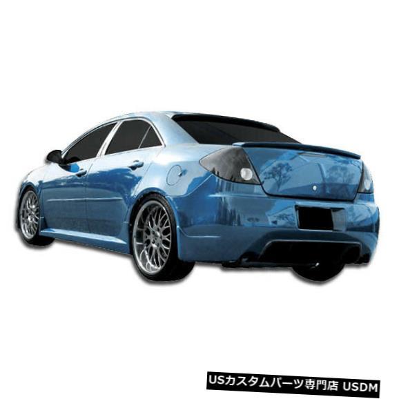 Rear Body Kit Bumper 05-10ポンティアックG6 4DR GTコンペティションデュラフレックスリアボディキットバンパー!!! 106069 05-10 Pontiac G6 4DR GT Competition Duraflex Rear Body Kit Bumper!!! 106069