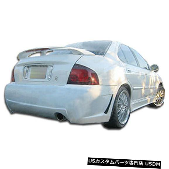 Rear Body Kit Bumper 04-06日産セントラB-2デュラフレックスリアボディキットバンパーに適合!!! 103315 04-06 Fits Nissan Sentra B-2 Duraflex Rear Body Kit Bumper!!! 103315