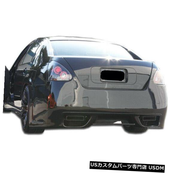 Rear Body Kit Bumper 04-08日産マキシマGT-Rデュラフレックスリアボディキットバンパーに適合!!! 104134 04-08 Fits Nissan Maxima GT-R Duraflex Rear Body Kit Bumper!!! 104134