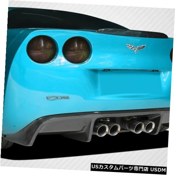 Rear Body Kit Bumper 05-13シボレーコルベットGT500カーボンファイバーリアバンパーディフューザーボディキット108411 05-13 Chevrolet Corvette GT500 Carbon Fiber Rear Bumper Diffuser Body Kit 108411