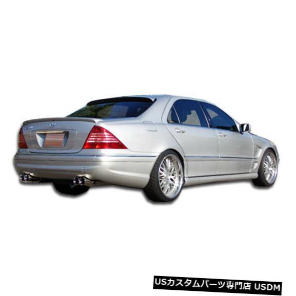 Rear Body Kit Bumper 00-06メルセデスSクラスAMGルックDuraflexリアボディキットバンパー!!! 102487 00-06 Mercedes S Class AMG Look Duraflex Rear Body Kit Bumper!!! 102487