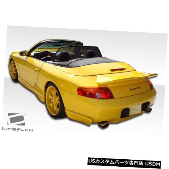 Rear Body Kit Bumper 99-01 Porsche 996 GT-3 Duraflexリアバンパーアドオンボディキット!!! 103750 99-01 Porsche 996 GT-3 Duraflex Rear Bumper Add On Body Kit!!! 103750