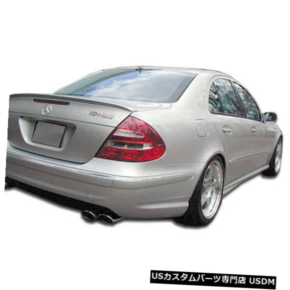 Rear Body Kit Bumper 03-09メルセデスEクラス4DR AMGルックDuraflexリアボディキットバンパー!!! 103145 03-09 Mercedes E Class 4DR AMG Look Duraflex Rear Body Kit Bumper!!! 103145