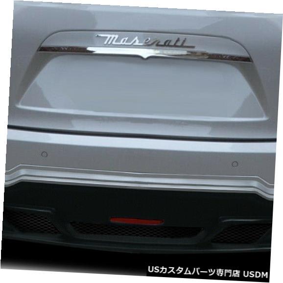 Rear Body Kit Bumper 14-18マセラティジブリW-1デュラフレックスリアバンパーリップボディキット!!! 113961 14-18 Maserati Ghibli W-1 Duraflex Rear Bumper Lip Body Kit!!! 113961