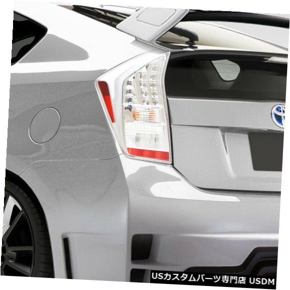 Rear Body Kit Bumper 10-15トヨタプリウスTK-Rデュラフレックスリアボディキットバンパー!!! 109382 10-15 Toyota Prius TK-R Duraflex Rear Body Kit Bumper!!! 109382