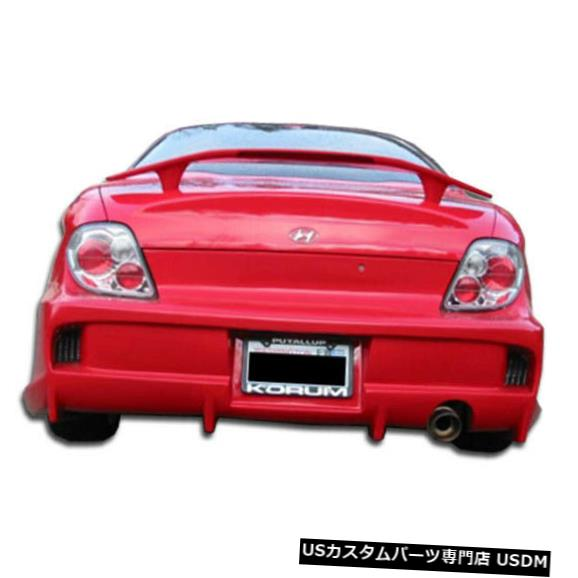 Rear Body Kit Bumper 00-01ヒュンダイティブロンベイダーデュラフレックスリアボディキットバンパーに適合!!! 100081 00-01 Fits Hyundai Tiburon Vader Duraflex Rear Body Kit Bumper!!! 100081