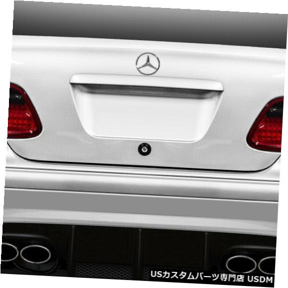 Rear Body Kit Bumper 98-02メルセデスCLKブラックシリーズルックDuraflexリアワイドボディキットバンパー112558 98-02 Mercedes CLK Black Series Look Duraflex Rear Wide Body Kit Bumper 112558