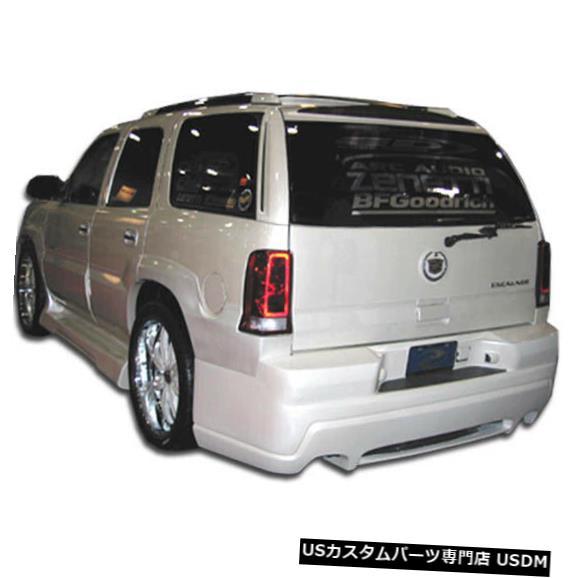 Rear Body Kit Bumper 02-06キャデラックエスカレードプラチナム2 Duraflexリアボディキットバンパー!!! 100328 02-06 Cadillac Escalade Platinum 2 Duraflex Rear Body Kit Bumper!!! 100328