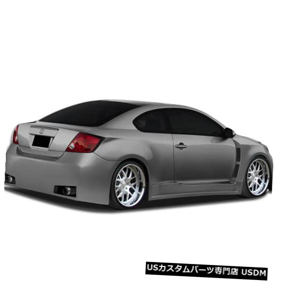 Rear Body Kit Bumper 05-10 Scion TC Atlas Duraflexリアワイドボディキットバンパー!!! 107051 05-10 Scion TC Atlas Duraflex Rear Wide Body Kit Bumper!!! 107051