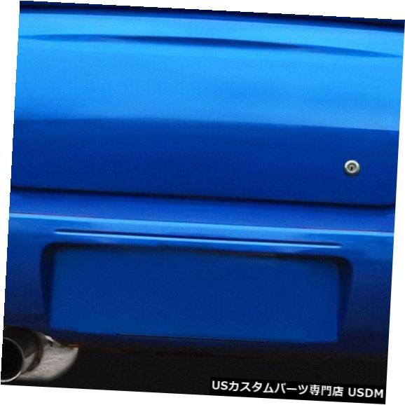Rear Body Kit Bumper 04-07スバルインプレッサ4DR WRCルックDuraflexリアボディキットバンパー!!! 114816 04-07 Subaru Impreza 4DR WRC Look Duraflex Rear Body Kit Bumper!!! 114816