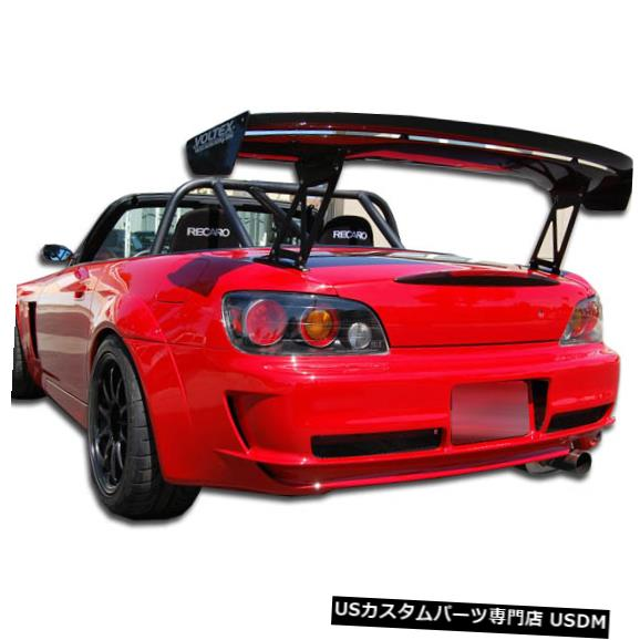Rear Body Kit Bumper 00-09ホンダS2000 AスポーツDuraflexリアボディキットバンパー!!! 105920 00-09 Honda S2000 A-Sport Duraflex Rear Body Kit Bumper!!! 105920