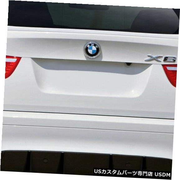 Rear Body Kit Bumper 08-14 BMW X6エロスV.1オーバーストックリアボディキットバンパー!!! 112083 08-14 BMW X6 Eros V.1 Overstock Rear Body Kit Bumper!!! 112083