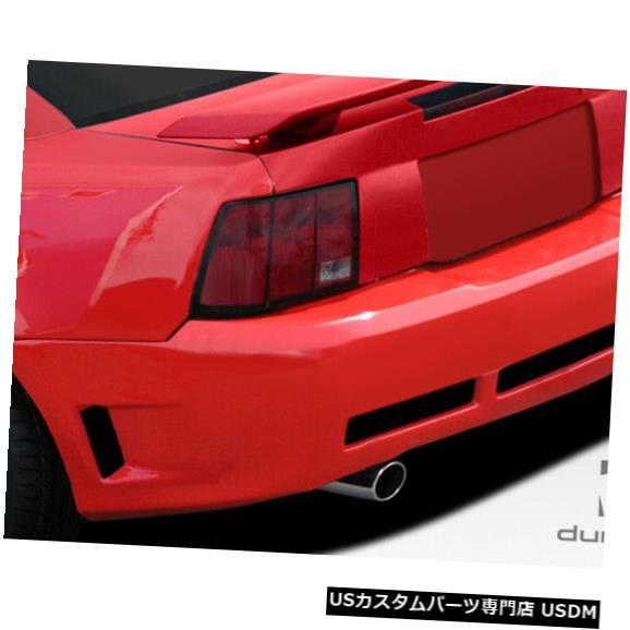 Rear Body Kit Bumper 99-04フォードマスタングCBR500デュラフレックスリアワイドボディキットバンパー!!! 107582 99-04 Ford Mustang CBR500 Duraflex Rear Wide Body Kit Bumper!!! 107582