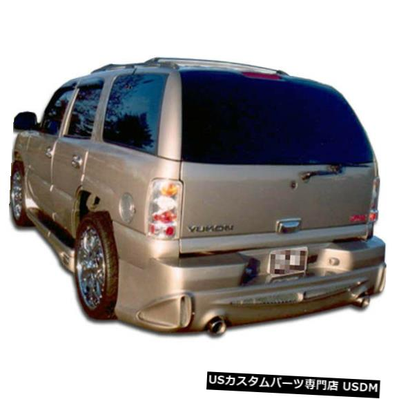 Rear Body Kit Bumper 01-06 GMC Denali XLプラチナDuraflexリアボディキットバンパー!!! 100345 01-06 GMC Denali XL Platinum Duraflex Rear Body Kit Bumper!!! 100345