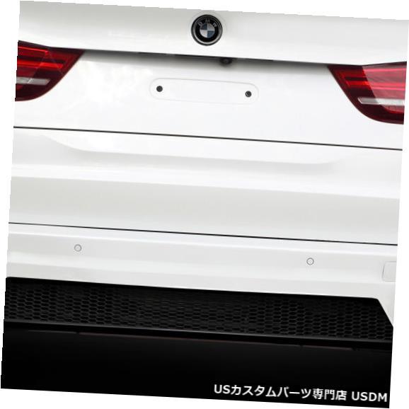 Rear Body Kit Bumper 14-18 BMW X5 AF-1エアロ機能リアボディキットバンパー!!! 112660 14-18 BMW X5 AF-1 Aero Function Rear Body Kit Bumper!!! 112660
