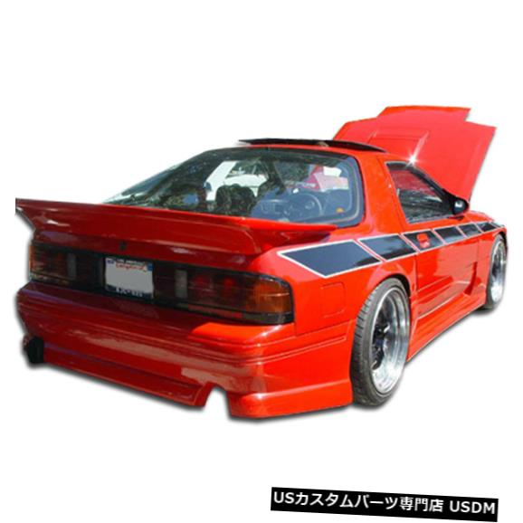 Rear Body Kit Bumper 86-91マツダRX7 GP-1 Duraflexリアボディキットバンパー!!! 100726 86-91 Mazda RX7 GP-1 Duraflex Rear Body Kit Bumper!!! 100726