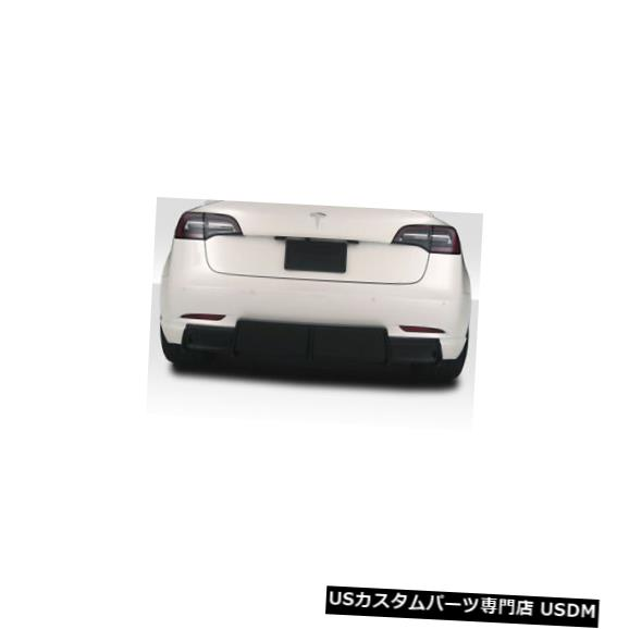 Rear Body Kit Bumper 18-20テスラモデル3 GTコンセプトDuraflexリアバンパーディフューザーボディキット!!! 115467 18-20 Tesla Model 3 GT Concept Duraflex Rear Bumper Diffuser Body Kit!!! 115467
