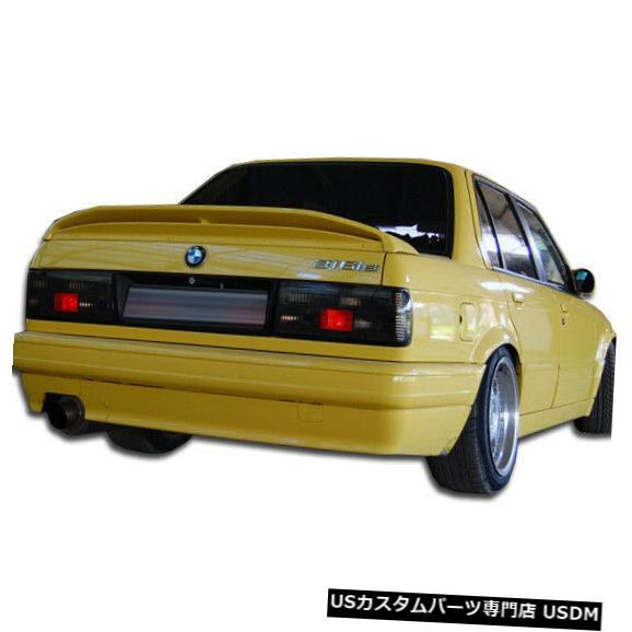 Rear Body Kit Bumper 88-91 BMW 3シリーズM-Tech Duraflexリアボディキットバンパー!!! 105047 88-91 BMW 3 Series M-Tech Duraflex Rear Body Kit Bumper!!! 105047