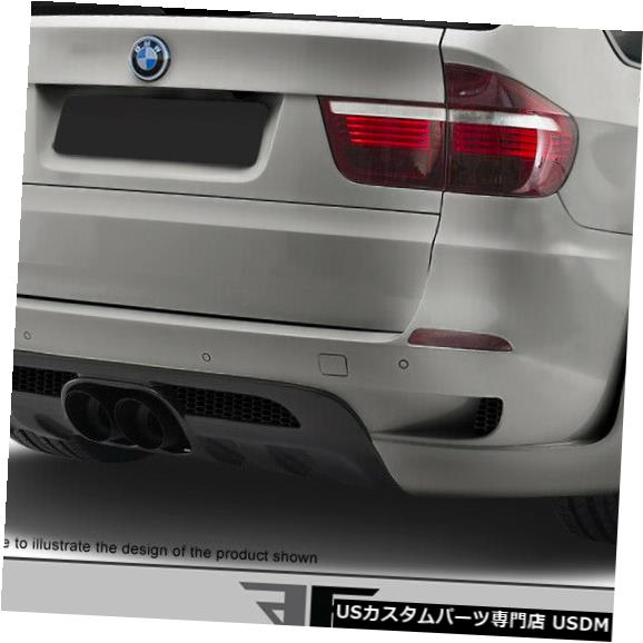 Rear Body Kit Bumper 10-13 BMW X5M AF-1エアロ機能(GFK)リアワイドボディキットバンパー!!! 108742 10-13 BMW X5M AF-1 Aero Function (GFK) Rear Wide Body Kit Bumper!!! 108742