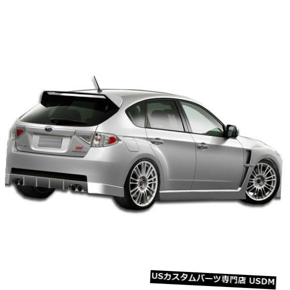 Rear Body Kit Bumper 08-14スバルインプレッサ5DR GTコンセプトデュラフレックスリアボディキットバンパー!!! 104671 08-14 Subaru Impreza 5DR GT Concept Duraflex Rear Body Kit Bumper!!! 104671