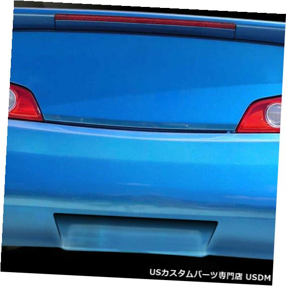 Rear Body Kit Bumper 03-07 Infiniti G Coupe D-Spec Duraflexリアボディキットバンパーに適合!!! 112875 03-07 Fits Infiniti G Coupe D-Spec Duraflex Rear Body Kit Bumper!!! 112875