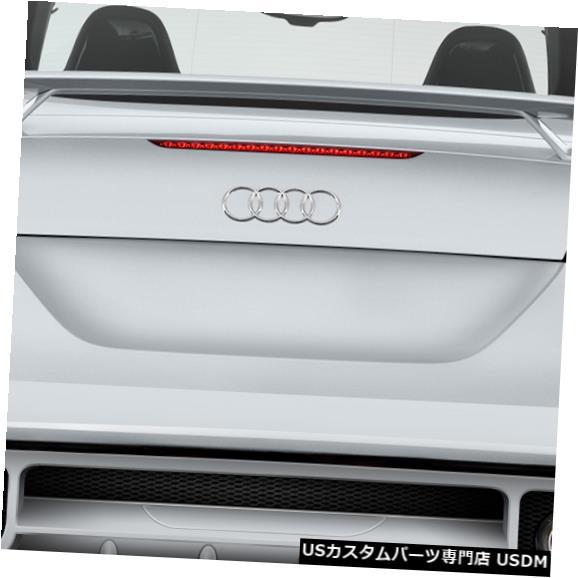 Rear Body Kit Bumper 06-14アウディTTレギュレーターデュラフレックスリアボディキットバンパー!!! 113788 06-14 Audi TT Regulator Duraflex Rear Body Kit Bumper!!! 113788
