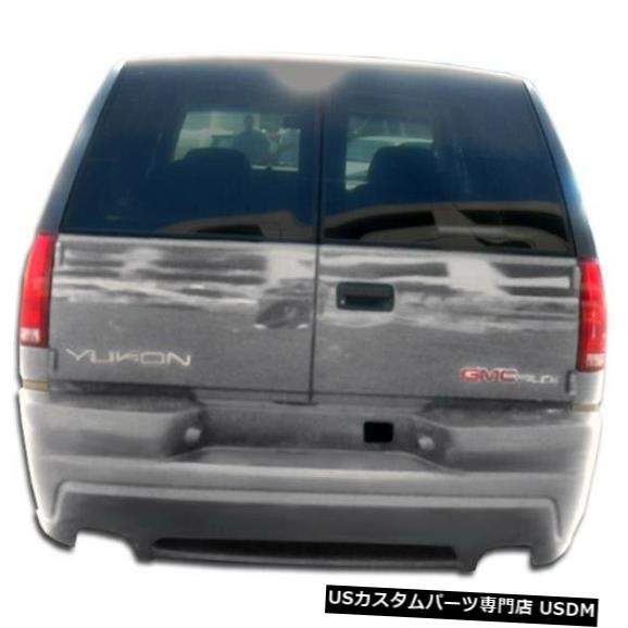 Rear Body Kit Bumper 92-99シボレータホプラチナ2オーバーストックリアボディキットバンパー!!! 101531 92-99 Chevrolet Tahoe Platinum 2 Overstock Rear Body Kit Bumper!!! 101531