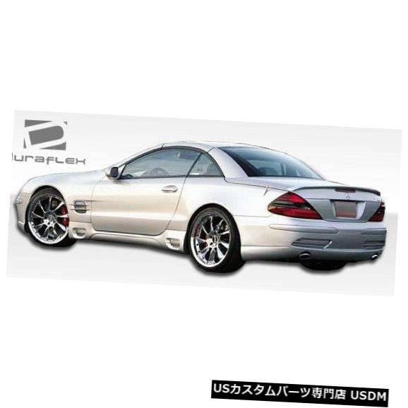 Rear Body Kit Bumper 03-12メルセデスSL LR-Sデュラフレックスリアボディキットバンパー!!! 103736 03-12 Mercedes SL LR-S Duraflex Rear Body Kit Bumper!!! 103736